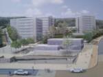 Après rénovation : les Boutardes vues du boulevard d'Aylmer, avec le futur centre social au premier plan. | Source : projet de rénovation.