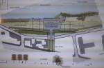 Projet de reconversion du site de l'ancienne piscine de plein air, tel que présenté au conseil municipale du 13 janvier.