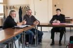De gauche à droite : Christian Pavec, secrétaire général adjoint ; Serge Coeuret, responsable du développement ; Dominique Taddeï, secrétaire général départemental.
