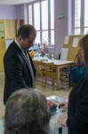 Vote du candidat FN Erik Ackermann.