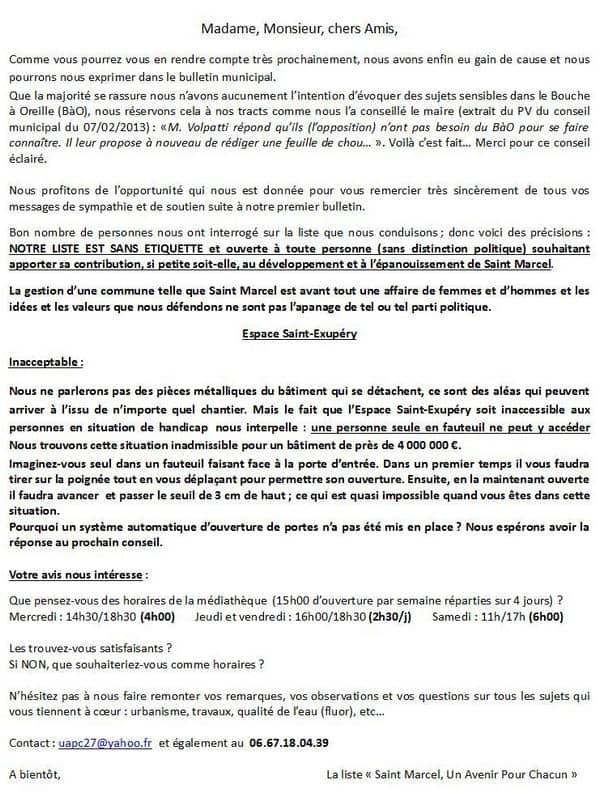 2013-05 - Seconde lettre de Pierre Zimmermann