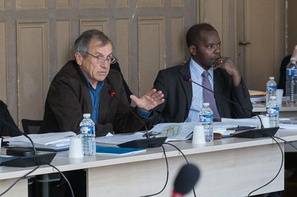 Jean-Claude Mary (à gauche), l