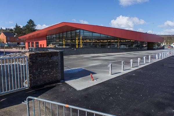 La nouvelle médiathèque de Saint-Marcel, inaugurée en avril dernier.